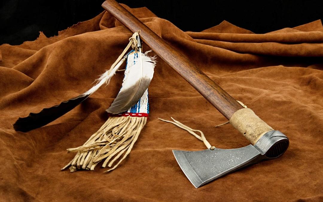 Damaškový tomahawk Navajo